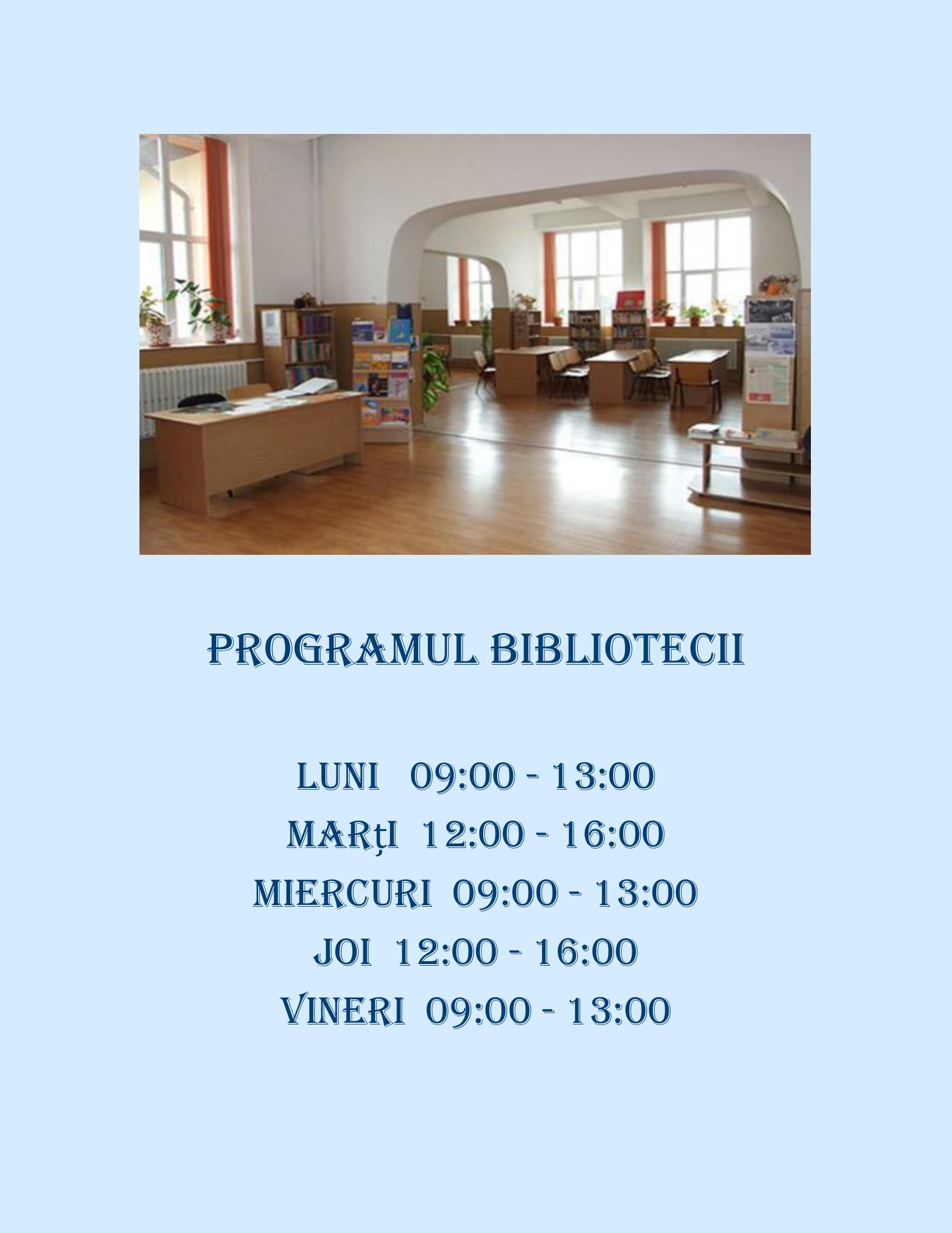 Programul Bibliotecii-1